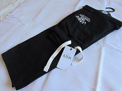 Boys Black Jogging Trousers    Size 12-13 Years