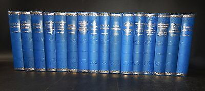 c1930 WORKS OF CHARLES DICKENS 16 Volumes ILLUSTRATED Lovely Sound Set