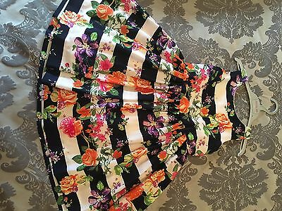Beautiful Girls Floral Summer Dress Age 7