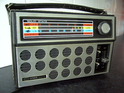 SONIX MEXICANO MW/LW RADIO 1970's OLD SCHOOL