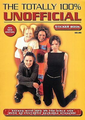 Rare 1997/98 Spice Girls Poster 100% Unofficial Collectors Fan Magazine