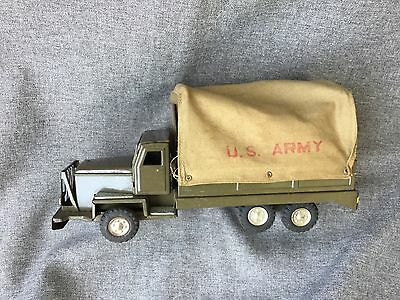 Cloth Top U.S. Army Friction Truck  Made in Japan