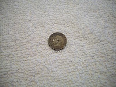 1921 Great Britain George V Silver 3 Pence