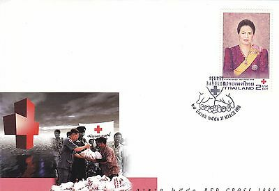 Red Cross 1998 Thailand FDC