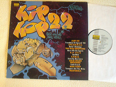 V.A. - HIP HOP 22 LP Streetsounds Records 1988 Just Ice Raw Corp Diaz Brothers