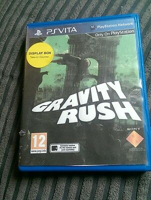 Playstation ps vita EMPTY REPLACEMENT GAME BOX gravity rush