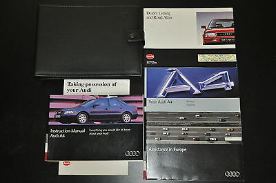 Audi A4 B5 1995 - 2001 Petrol & Diesel Owner & Service Workshop Manual in 6 PDF