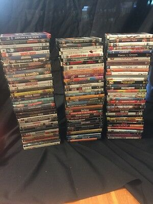 Huge Lot Of 100+ DVDs, Horror, Comedy, Action, Thriller And More.