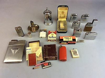 Mixed Lighter Collection To Include Dunhill, Ronson Etc Ship Worldwide