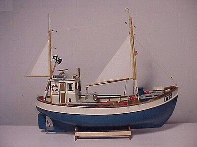 """Model Boat 16"""" RC 1:25 Full Size PRINTED PLANS Norden Cutter Radio Control"""
