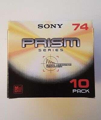 Sony Prism Series Minidisc 74 MD Japan (7 discs NEW BLANK)