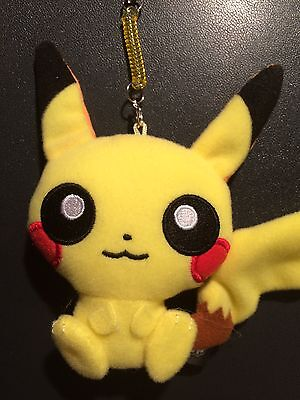 Pikachu Pokémon Pop Plush Keychain Pokémon Center Japan limited