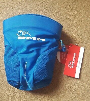 DMM Trad Chalk Bag Blue brand new with tags climbing