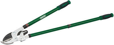 Genuine DRAPER Telescopic Ratchet Action Anvil Loppers with Steel Handles 36837
