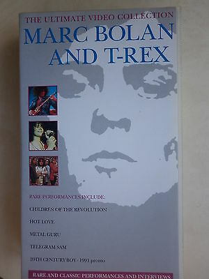 Marc Bolan & T. Rex - The Ultimate Video Collection VHS