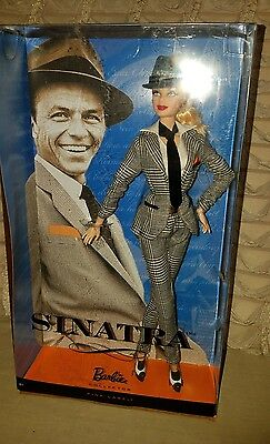 NRFB 2010 Model Muse Pivotal Frank Sinatra BARBIE Doll ARTICULATED!