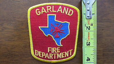Garland Fire Patch Texas Tx United States Usa