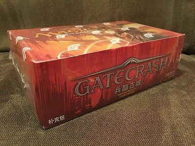 New Factory Sealed MTG Magic The Gathering Booster Box Gatecrash Chinese