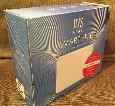 Iris By Lowe's Smart Hub IH200: New In Box, For Home Security Thermostat Lights