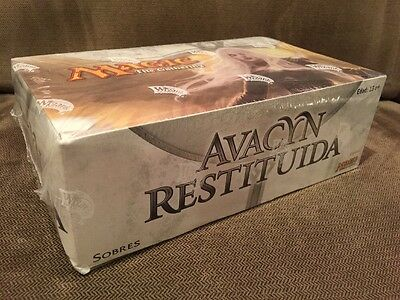 New Factory Sealed Booster Box MTG Magic The Gathering Avacyn Restored Spanish