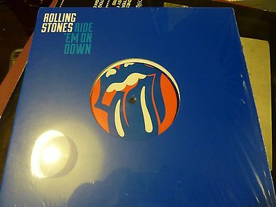 """Rolling Stones Ride 'em On Down 10"""" Blue Vinyl New (Seal Broken To Check Colour)"""
