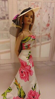 "Ooak Summer Elegance Outfit For Tonner's 16"" Tyler Wentworth & Her Friends!!!"
