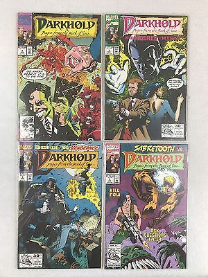 Darkhold: Pages from the Book of Sins #2,3,4,5 Marvel Comics