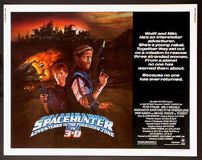 Spacehunter Adventures In The Forbidden Zone 3-D Molly Ringwald Peter Strauss