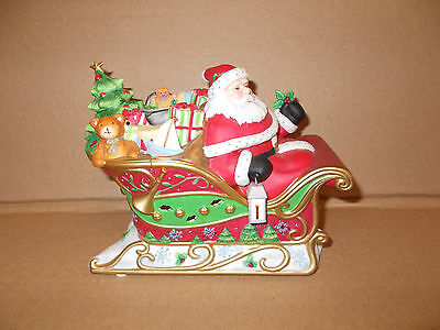 Santa's Sleigh Ride Tealight by Party Lite