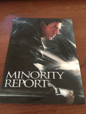 """Minority Report"" Movie Media Press Kit Tom Cruise Colin Farrell Samantha Morton"