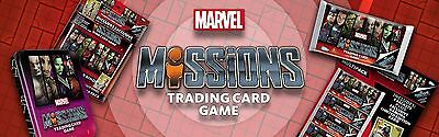 Topps marvel missions trading cards 2017 Brand new