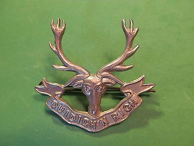 WW2 Canadian The Pictou Highlanders Cap Badge