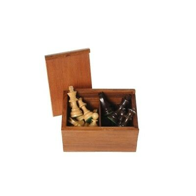 Chess Pieces Black Natural King's Height 76 mm