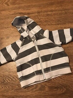 Next Boys Baby Casual Fashion Suit Hoodie Cardigan Age 3-6 Months Clothes