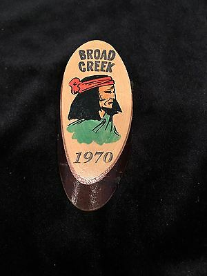 Boy Scout Neckerchief Slide Broad Creek 1970