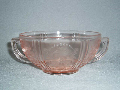 Pink American Sweetheart CREAM SOUP MacBeth Evans Depression Glass Free Ship
