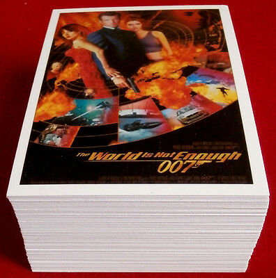 007 CLASSICS 2016 - The World Is Not Enough - COMPLETE 72 Card Base Set
