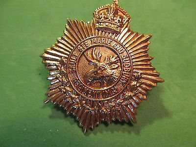 WW2 Canadian The Sault Ste Marie And Sudbury Regiment Cap Badge
