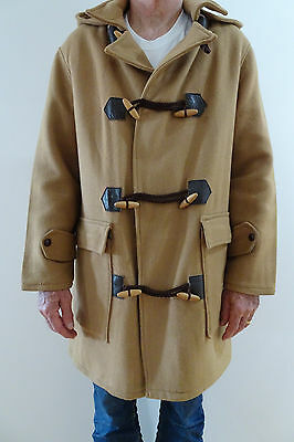 Duffle Coat H.H. Brent Norwellan Bluey Junior Size M - 20 Ounces Pure Wool