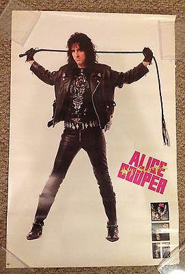 Alice Cooper Hey Stoopid vintage RARE poster rock n roll Trash 24 by 36