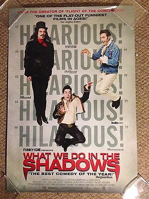 What We Do In The Shadows original film movie poster 27 by 40 double sided