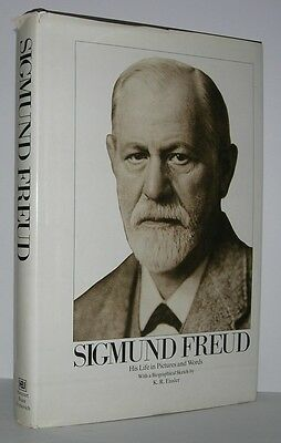 SIGMUND FREUD His Life in Pictures - Freud, Ernst - First Edition 1st Printing