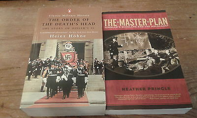 2 Paperback Books The Order Of The Death's Head & The Master Plan
