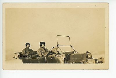 Maxwell Car—Glidden Tour Winner RPPC Antique Automobile Photo 1910s