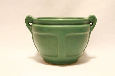 Roseville Matte Green Arts & Crafts - Art Pottery - Small Cabinet Jardiniere!!!