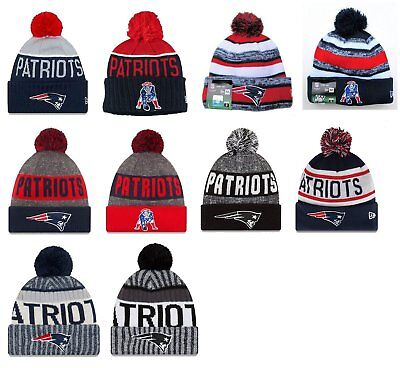 New England Patriots Cuffed Beanie Knit Winter Cap Hat NFL Authentic