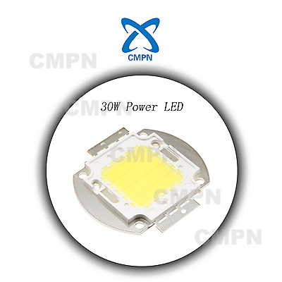 1Pcs 30W High Power White 6000-6500k LED Buld Floodlight Diodes SMD Chip Beads