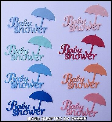Baby Shower Die Cuts X 8,boys,card Making,embellishments,album,girls,toppers