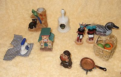Vintage Shadow Box Figures And Klitch - Lot Of 10