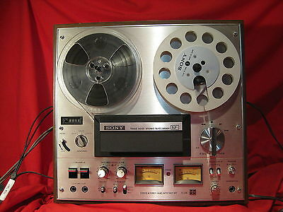 Sony TC-378 3 head 3 speed Reel to Reel Tape Recorder - SERVICED!